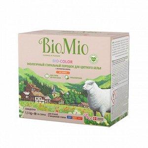 BIO-COLOR Экологичный стиральный порошок для цветного белья