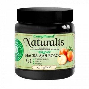 Compliment Naturalis Маска д/волос с луком укрепление /блеск /объём /500