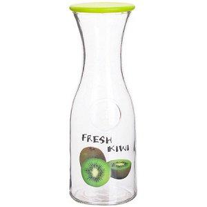 27825-1 Бутылка стеклянная 1 литр ЗЕЛЁНАЯ LR (х12)