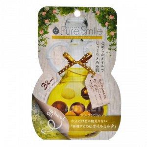 """""""Pure Smile"""" """"Natural Oil-in-Mask"""" Регенерирующая косметическая маска для лица с маслом макадамии"""