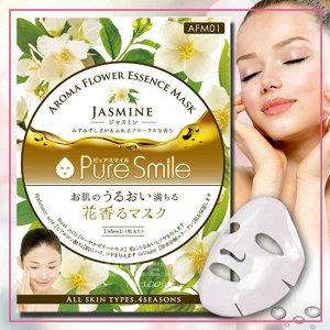 """""""Pure Smile"""" """"Aroma Flower"""" Смягчающая маска для лица с маслом жасмина"""