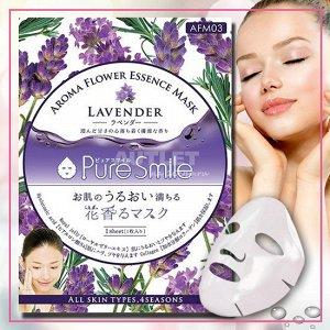 """""""Pure Smile"""" """"Aroma Flower"""" Расслабляющая маска для лица с маслом лаванды"""