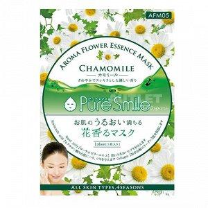 """""""Pure Smile"""" """"Aroma Flower"""" Успокаивающая маска для лица с маслом ромашки"""