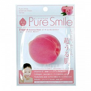 """Pure Smile"" ""Essence mask"" Обновляющая маска для лица с эссенцией персика"
