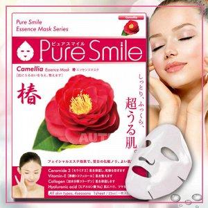 """Pure Smile"" ""Essence mask"" Увлажняющая маска для лица с эссенцией цветов камелии"