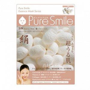 """Pure Smile"" ""Essence mask"" Разглаживающая маска для лица с эссенцией шёлка"