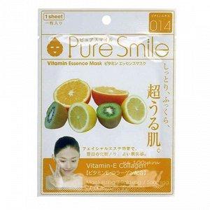 """""""Pure Smile"""" """"Essence mask"""" Регенерирующая маска для лица с витаминной эссенцией"""