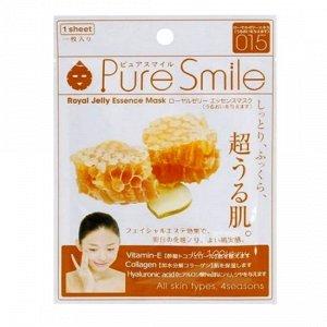 """""""Pure Smile"""" """"Essence mask"""" Омолаживающая маска для лица с эссенцией маточного молочка пчёл"""