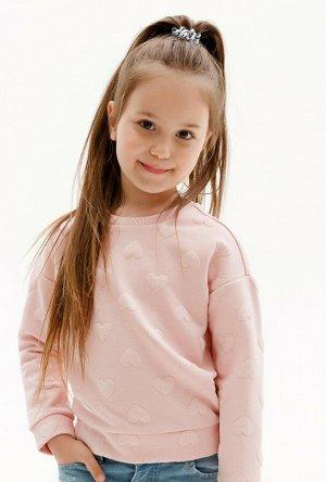 Джемпер детский для девочек Orange светло-розовый