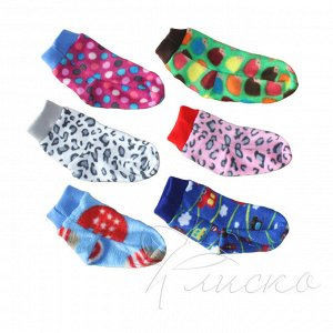 Детские теплые носочки из флиса