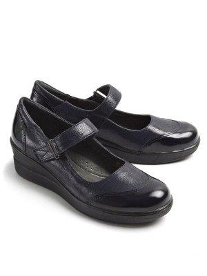 Туфли летние женские, синий