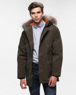 Куртка мужская коpоткая на утеплителе 18810 без опушки