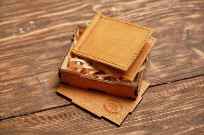 Кожаные аксессуары ручной работы! Обложки, портмоне, клатчи — Зажимы для денег — Кошельки, визитницы и бумажники