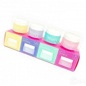 BANILA CO Set Miniature Clean It Zero Набор хитовых очищающих бальзамов 7мл (4шт)