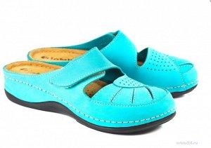 Туфли летние бирюза