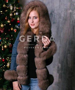Джинсовка зима 46 размер