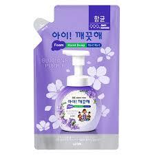 """Пенное мыло для рук """"Ai - Kekute"""" Аромат фиалки, с антибактериальным эффектом, зап.блок"""