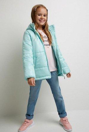 Брюки джинсовые детские для девочек Keokeo синий