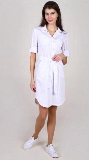 Платье-халат женский медицинский