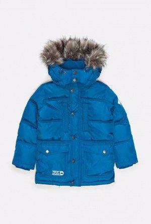 Куртка детская для мальчиков синий