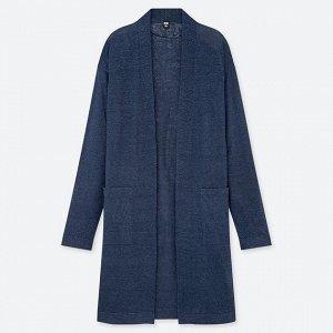 Кардиган, цвет синий, размер L, Японский