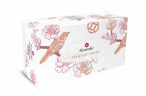Салфетки бумажные Kaineko Premium Aroma Green Tea 2-х слойные 3*250