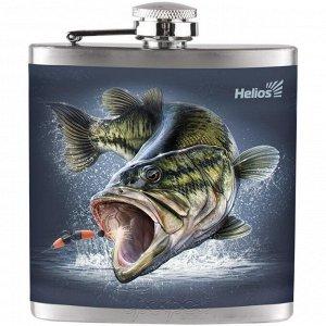 Фляжка Рыба 210 мл Helios (HS-F-F-A20-1)