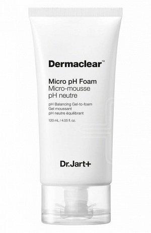 Dr.Jart Dermaclear Micro pH Foam Гель-пенка для умывания и глубокого очищения 120мл