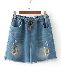 Джинсовые шорты, цвет: голубой