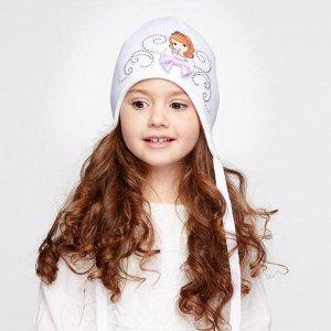 Классная весенняя шапка на девочку 5-6 лет storms kotik