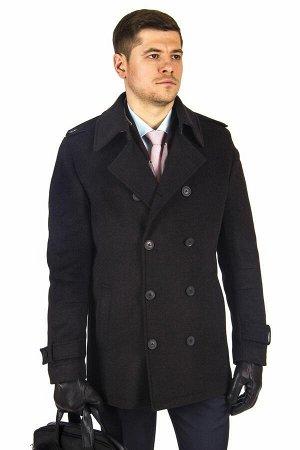 Пальто Модель: М8,Цвет: коричневый,Фактура: узор,Состав: шерсть-75%, вискоза-15%, полиэстер-10%,Артикул: 10504-М8