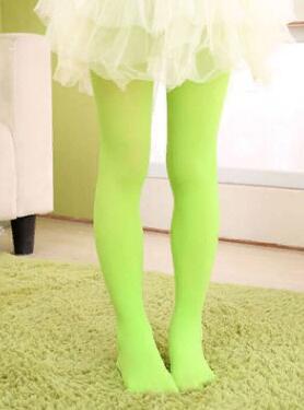 Капроновые колготки цвет Зеленый