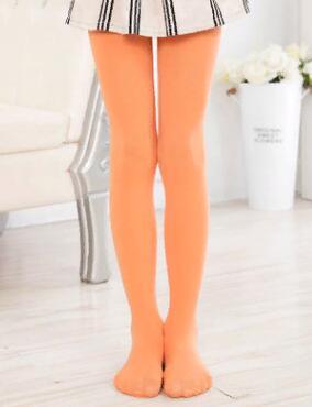 Капроновые колготки цвет Оранжевый