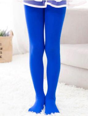 Капроновые колготки цвет Синий