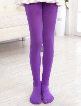 Капроновые колготки цвет Фиолетовый