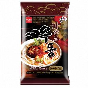 """Удон со вкусом тунца """"Katsuo flavor udon"""" 427 г"""