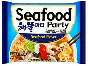 """Лапша со вкусом морепродуктов """"Seafood party"""" 125г"""