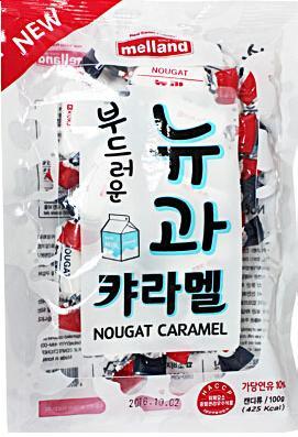 Карамель с молочным вкусом 100г