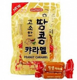 """Карамель со вкусом арахиса """"Peanut Caramel"""", 100г"""