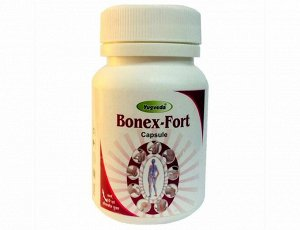 Bonex-fort Gold Silver capsule 30*500мг Yugveda