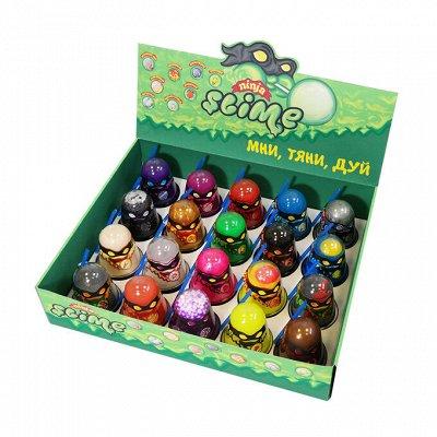 Все самое нужное от Luckygirla!  — Slime Ninja 130гр. — Развивающие игрушки
