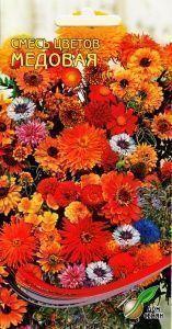 Смесь цветов Медовая