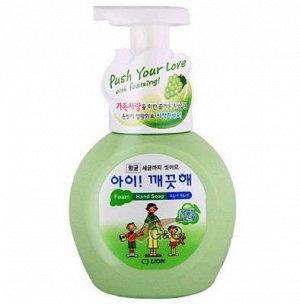 Пена жид. д/рук LION Korea Ai-Kekute 250мл антибактериальная Виноград (бутыль)