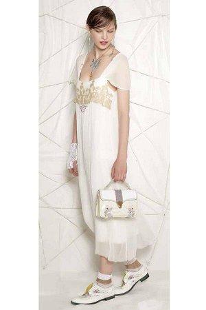 Платье E.Cavaletti(Italy) ГОЛУБОГО цвета