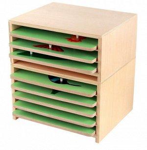 Ящик с тремя слотами