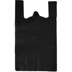 Пакет 40(10,0)x70 20  Черный ПЭНД