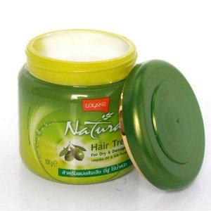 Маска для сухих и поврежденных волос с маслом Жожоба и протеином шелка Lolone