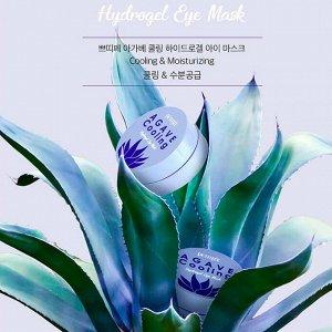 Охлаждающие гидрогелевые патчи с экстрактом агавы Petitfee Agave Cooling Hydrogel Eye Mask, 60шт