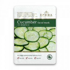 EYENLIP Маска-салфетка с огурцом IPUDA Facial Mask Cucumber