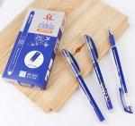 Ручка гелевая с резиновым упором